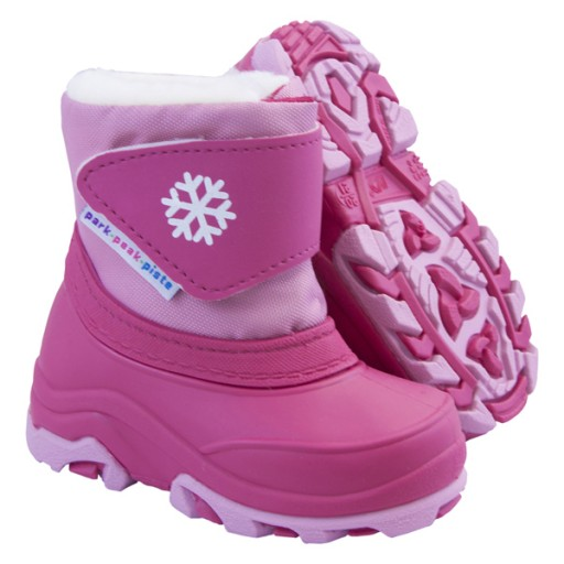 Boing Toddlers Snow Boots - Fuchsia