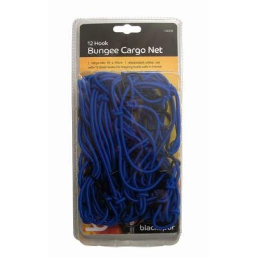 Megastore 12 Hook Bungee Cargo Net