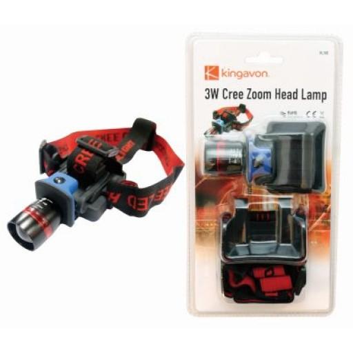 Megastore Cree Zoom Headlamp