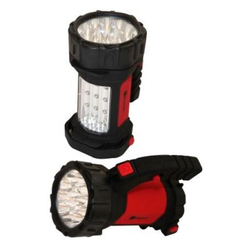 Megastore Swivel Handle 27 LED Spotlight