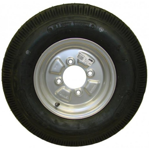 "Maypole 500x10"" Spare Wheel and Tyre for Trailer MP715"