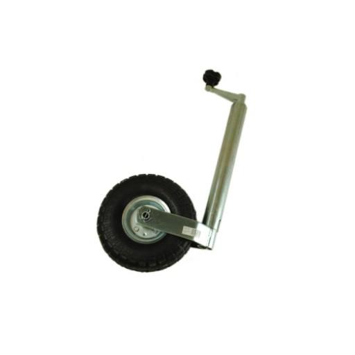 Maypole 48mm Heavy Duty Jockey Wheel with Pneumatic Tyre