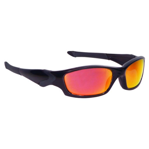 Manbi Spectrum Ski Sunglasses - Black/Red