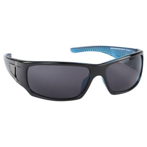 Manbi Rush Ski Sunglasses - Black/Blue
