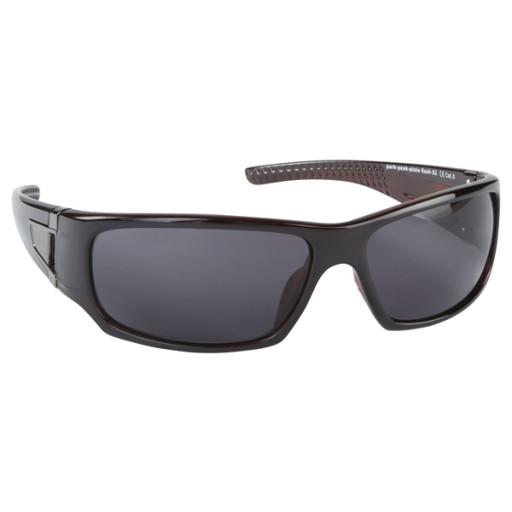 Manbi Rush Ski Sunglasses - Brown/Red