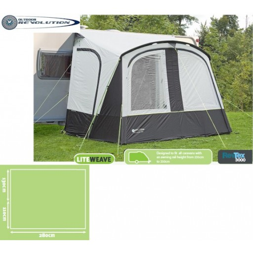 Outdoor Revolution Porchlite 280 Porch Awning