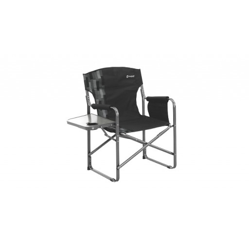 Outwell Bredon Hills Directors Chair with Side Table - Black