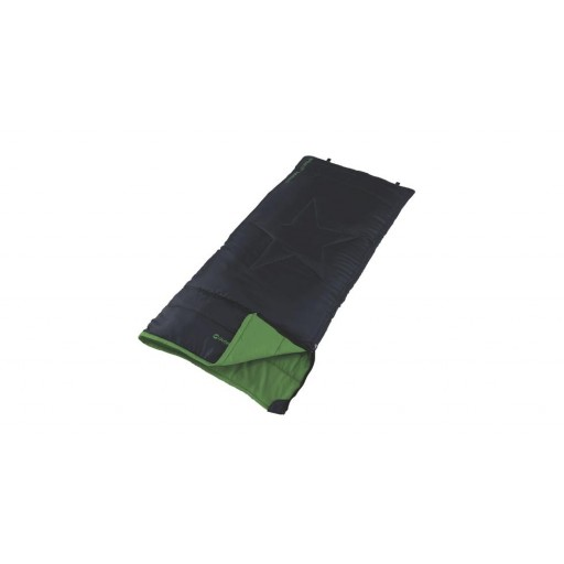 Outwell Cave Junior Sleeping Bag - Black