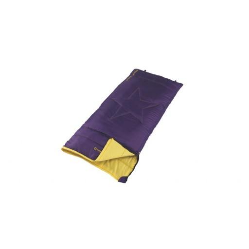 Outwell Cave Junior Sleeping Bag - Purple