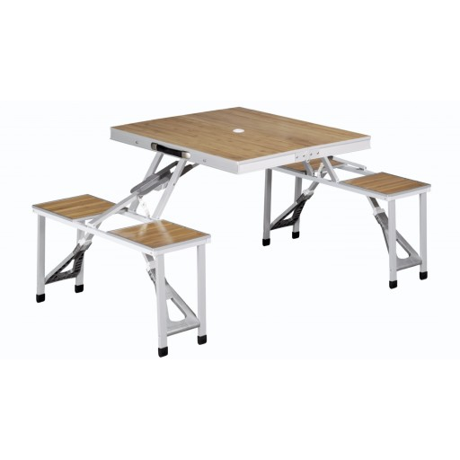 Outwell Dawson Folding Picnic Table and Chair Set