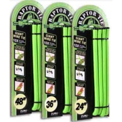 "Steiner Raptor Twister Grip 48"" 4 Pack"