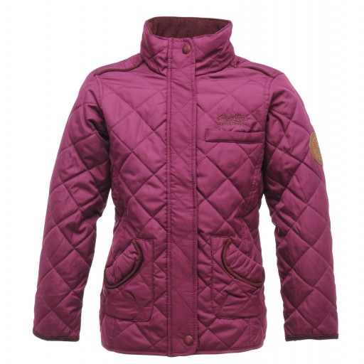 Regatta Giddyup Girl's Quilted Jacket