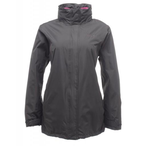 Regatta Preya 3 in 1 Women's Waterproof Jacket - Black