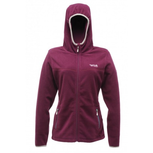 Regatta Serianna Women's Fleece Hoodie - Blackcurrant