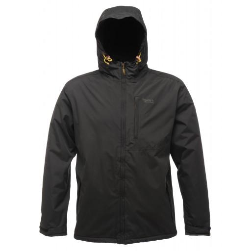 Regatta Slideland Men's Waterproof Jacket - Black