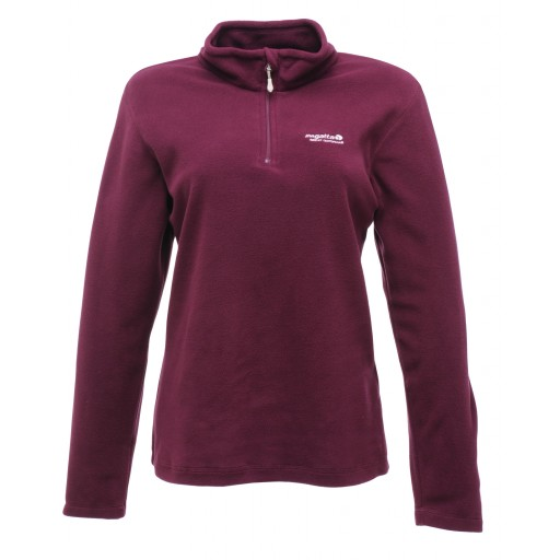 Regatta Sweetheart Women's Microfleece Top - Blackcurrant