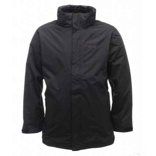 Regatta Telman 3 in 1 Men's Waterproof Jacket - Black