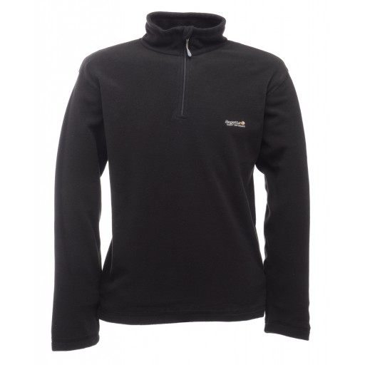 Regatta Thompson Men's Microfleece Top - Black