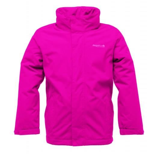 Regatta Westburn Girl's Fleece Lined Waterproof Jacket