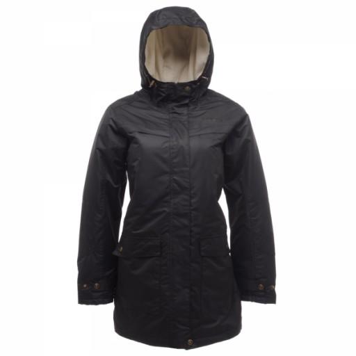 Regatta Chrystal Women's Long Length Waterproof Jacket
