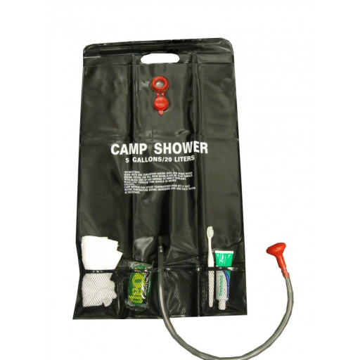 Sunncamp Platinum 20 Litre Solar Shower with Pockets