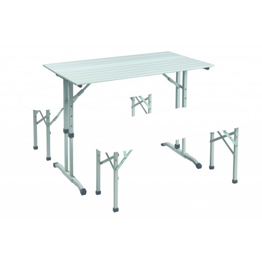 Sunncamp Table & Bench Set with Cushions