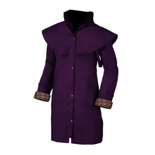 Target Dry Outrider 3/4 Women's Waterproof Coat - Aubergine