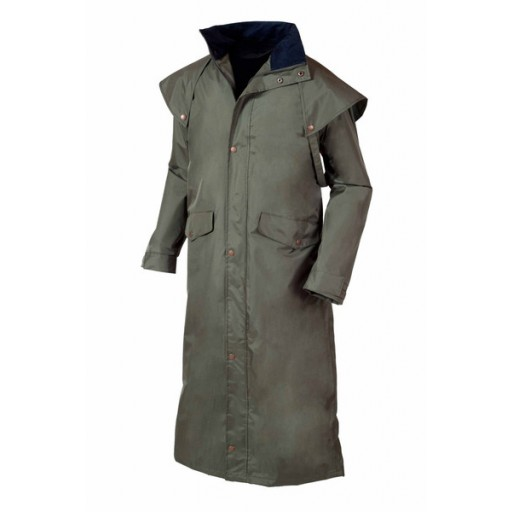 Target Dry Stockman Men's Waterproof Coat - Khaki