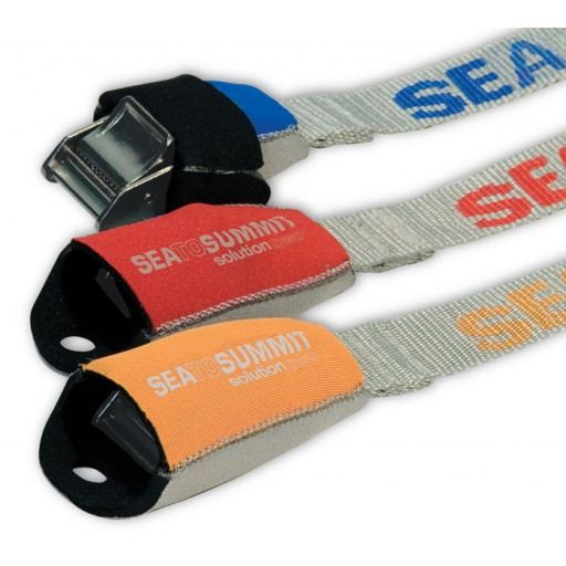 Sea to Summit Tie Down Straps with Neoprene Cam Covers – 5.5m
