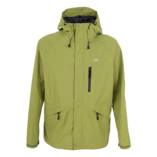 Trespass Corvo Men's Waterproof Jacket - Cactus