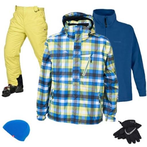 Trespass Heston Men's Ski & Snowboard Package