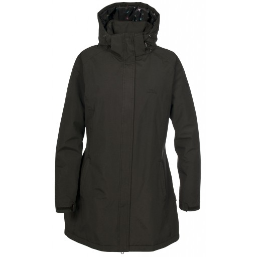 Trespass Manhattan Women's Waterproof Coat - Black