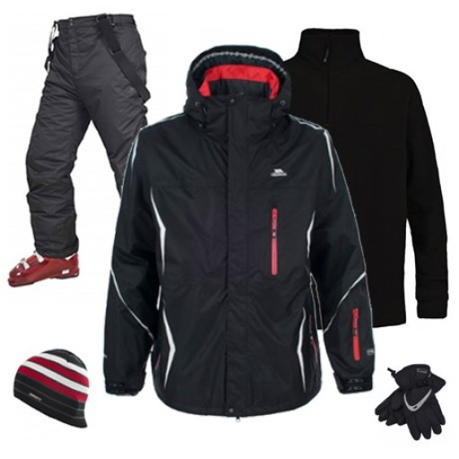 Trespass Manifold Men's Ski Wear Package