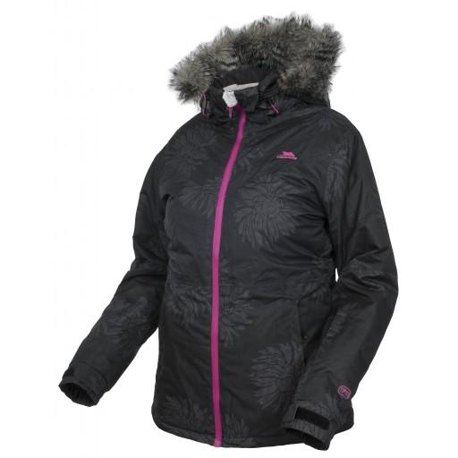 Trespass Sugarloaf Women's Ski Jacket - Black Print