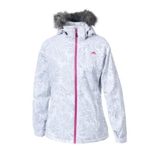 Trespass Sugarloaf Women's Ski Jacket - White Print
