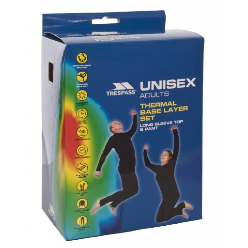 Trespass Unite360 Unisex Thermal Base Layer Set