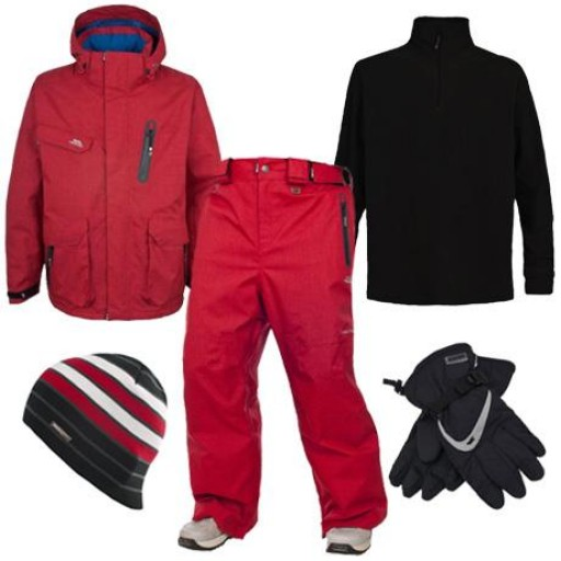 Trespass Deckers Men's Ski & Snowboard Package