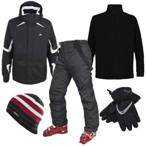 Trespass Morzines Men's Ski Wear Package