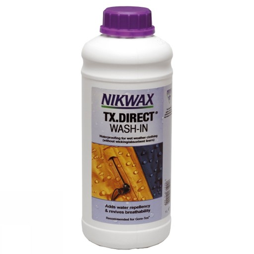 Nikwax TX Direct Wash-in Textile Waterproofing 1ltr