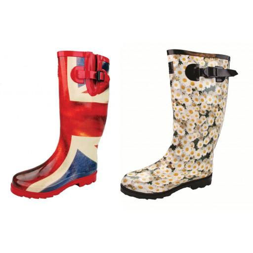 Highlander Designer Countrywoman Wellington Boots