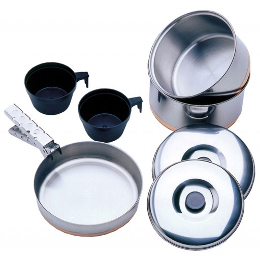 Vango Stainless Steel Cook Set - 2 Person
