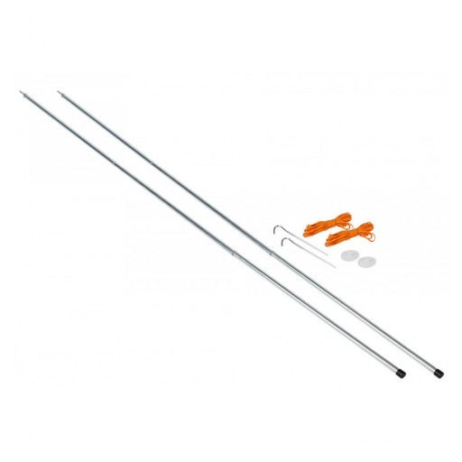 Vango Upright Steel King Poles - 210cm