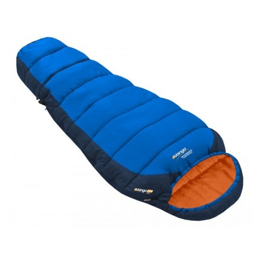 Vango Wilderness Junior Sleeping Bag - Blue