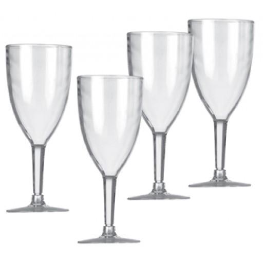 Vango Wine Glasses Clear Set of 4