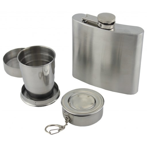 Yellowstone Hip Flask & Cup Set