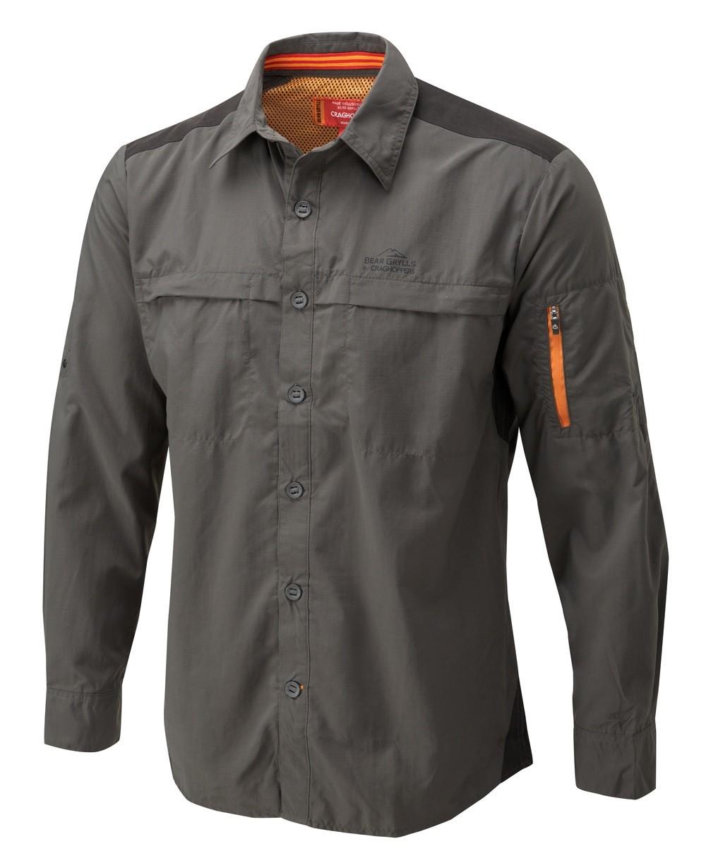 Craghoppers bear grylls trek men 39 s long sleeve shirt from for Mens outdoor long sleeve shirts