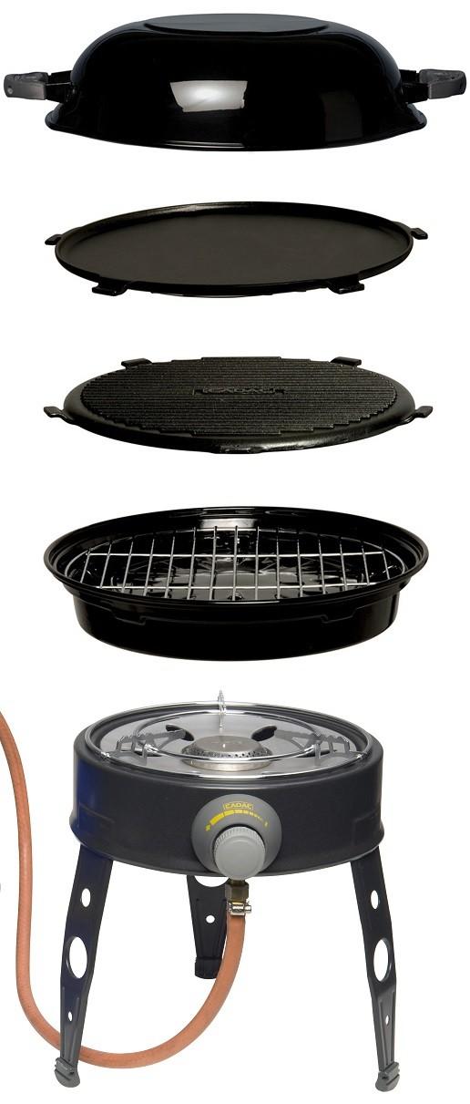 cadac safari chef lp barbecue w free pizza stone by cadac for. Black Bedroom Furniture Sets. Home Design Ideas
