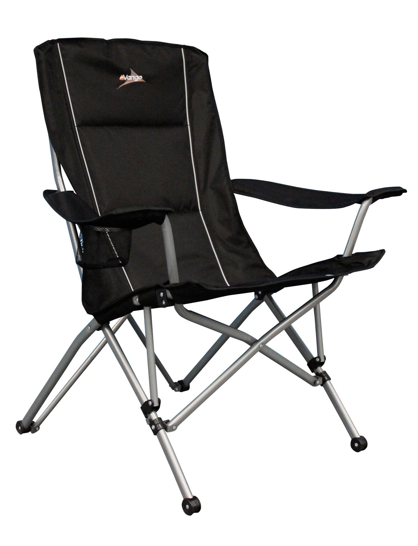 Vango Carmel Padded Steel Arm Chair Folding Camp Chairs