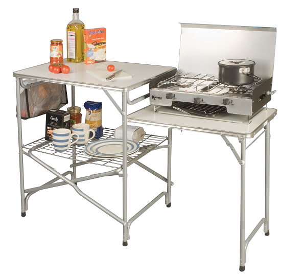 Outdoor Kitchen Units Uk: Kampa Colonel Kitchen Unit From Kampa For £60.00