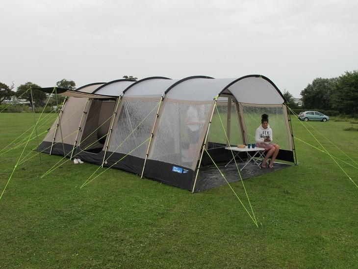 Save 30% · K&a Croyde 6 Family Tunnel Tent & Kampa Tents | Tents By Brand | Huge Range Of Kampa Tents